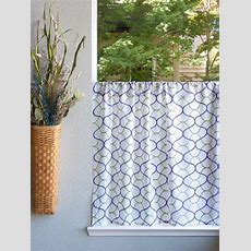 Coastal Kitchen Curtains, Beach, Modern  Saffron Marigold