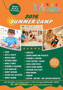Educhamps Summer Camp - BuzzingBubs