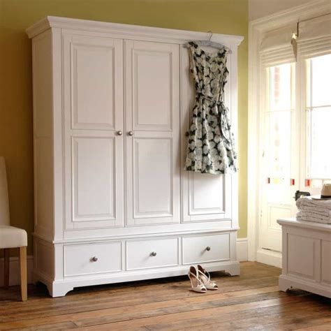 White Wardrobe by Painted White Wardrobe Modern And Useful