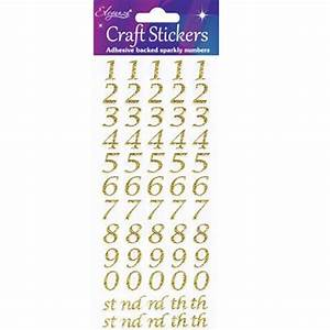 cursive gold number stickers 1 sheet giftbagshopcouk With gold cursive letter stickers