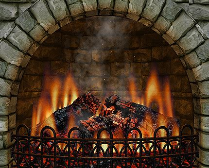 Realistic Fireplace Screensaver - 3d realistic fireplace screensaver flickr photo