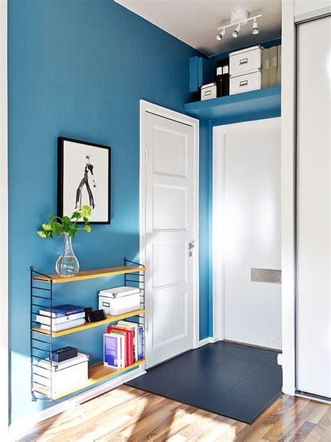 square meter studio    organized  chic interior