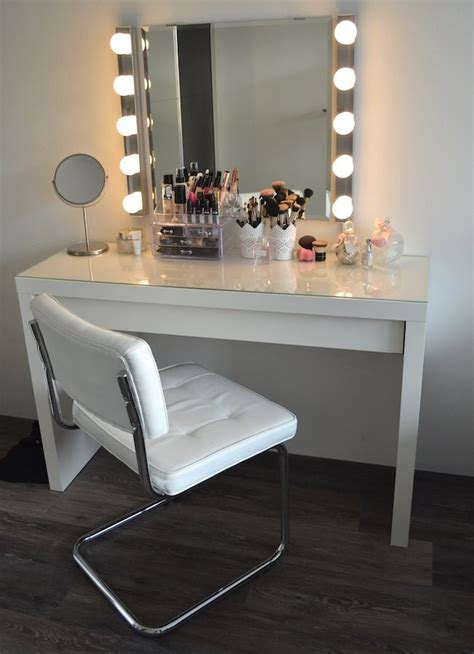 Ikea White Vanity Table by Best 25 Ikea Vanity Table Ideas On Diy Makeup
