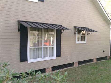 metal window awnings houses   metal awning metal