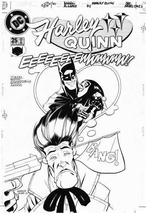 CARLO BARBIERI 2002 HARLEY QUINN #25 COVER