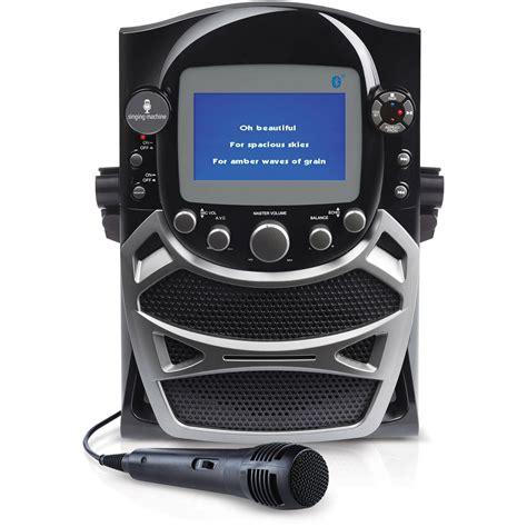 karaoke machine portable kids sing along cd player karaoke machine walmart com