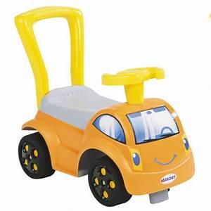 Voiture Porteur Bébé : trotteur porteur voiture smoby initio ii orange ~ Teatrodelosmanantiales.com Idées de Décoration