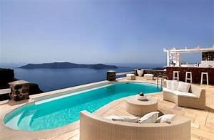 Resort tholos hotel di lusso a santorini ideare casa