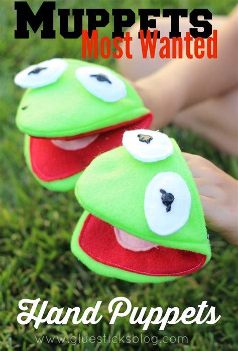 kermit  frog puppet pattern gluesticks
