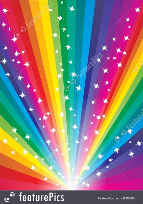 templates abstract rainbow background stock