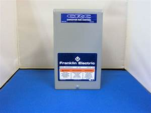Franklin Electric 3  4hp 230v Crc Control Box