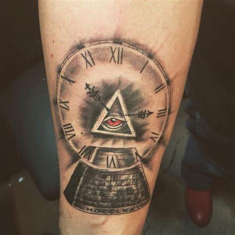 Illuminati Tattoos by 60 Mysterious Illuminati Designs Enlighten Yourself
