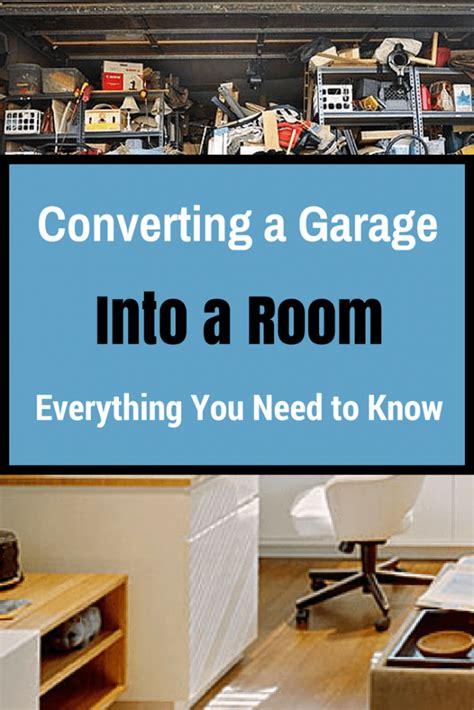 garage remodeling converting  garage   room