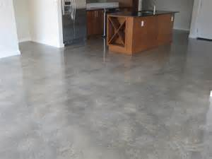 How Stain Concrete Floor Photo