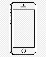 Coloring Cell Clipart Phone Outline Ultra Frieze Framing Pinclipart Clip Report sketch template