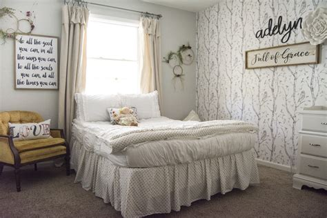 girls bedroom decor  simple  sweet makeover grace