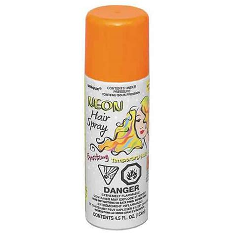 Orange Hair Spray Partyramacouk