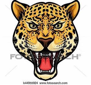 Dessin Jaguar Facile : clipart jaguar t te isol dessin anim mascotte conception k44955924 recherchez des ~ Maxctalentgroup.com Avis de Voitures