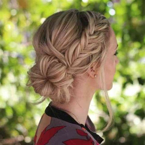 romantic messy updos  wedding   wedding