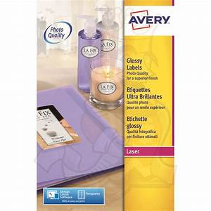 avery glossy labels 200x143mm l7768 40 80 labels label With avery glossy sticker paper
