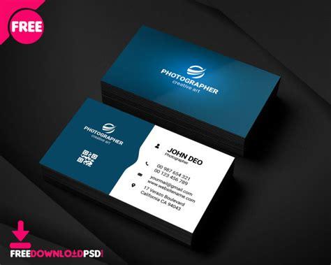 simple graphic designer busines card freedownloadpsdcom