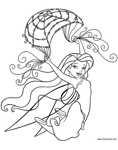 Disney Fairies Coloring Pages 3 Disneyclips com
