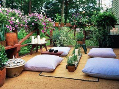 patios acogedores decoracion de jardines pequenos