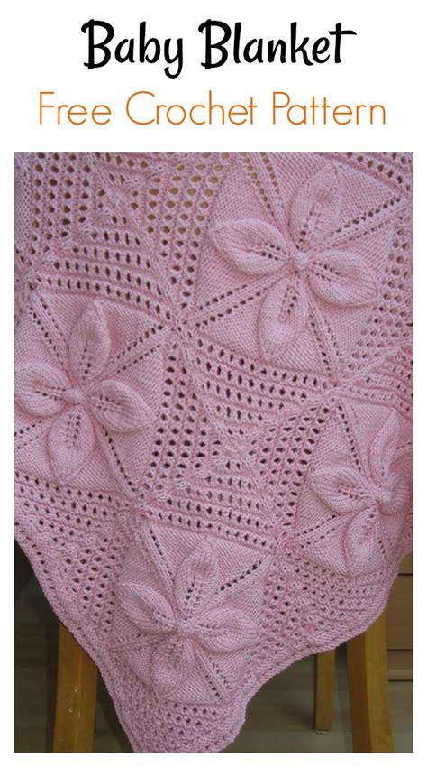 leaf motifs afghan baby blanket  knitting pattern