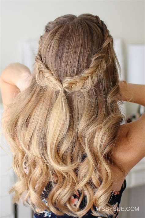 fall fishtail braids hair tutorials long hair styles