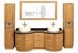Meuble De Salle De Bain Haut De Gamme : meuble salle de bain teck haut de gamme ~ Melissatoandfro.com Idées de Décoration