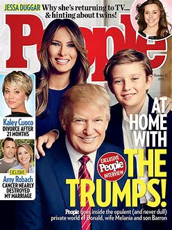 Image result for donald trump on cover people magazine