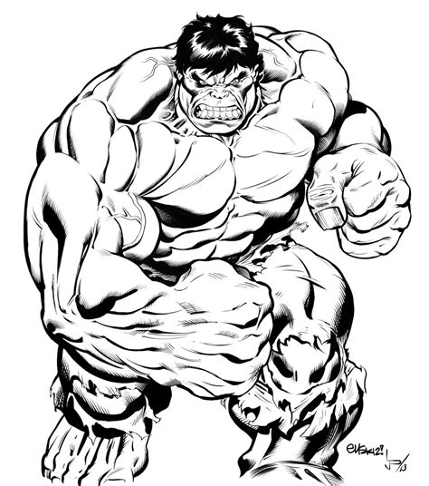 Hulk Drawing At Getdrawingscom Free For Personal Use