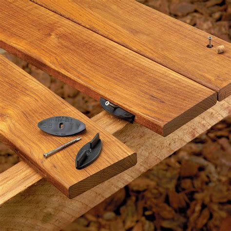 Deck Fasteners For Wood eb ty deck fastening system hardware fasteners wood