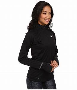 Warm Light App Iphone Lyst Nike Element Shield Full Zip Jacket In Black