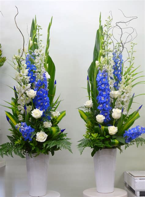 table centrepieces ideas pedestal arrangements adelaide blackwood florist