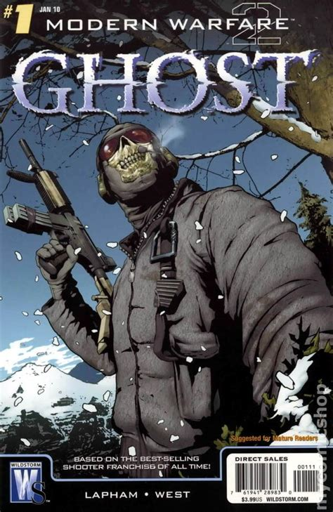 Modern Warfare 2 Ghost 2009 Dc Comic Books