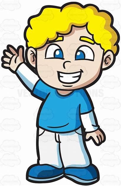 Boy Blonde Hair Clipart Happy Fix Clip