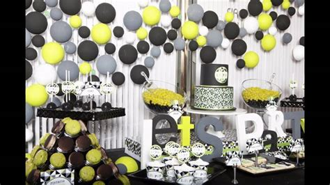 table decorations centerpieces birthday ideas for husband