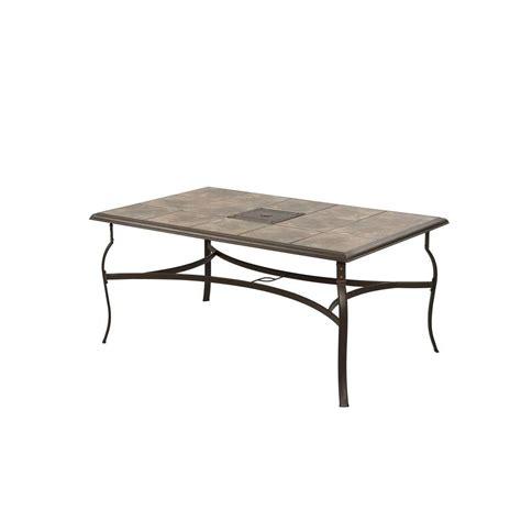 rectangular patio dining table hton bay belleville rectangular patio dining table