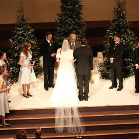 41 Best Images About Christmas Wedding Ceremony Set Up On