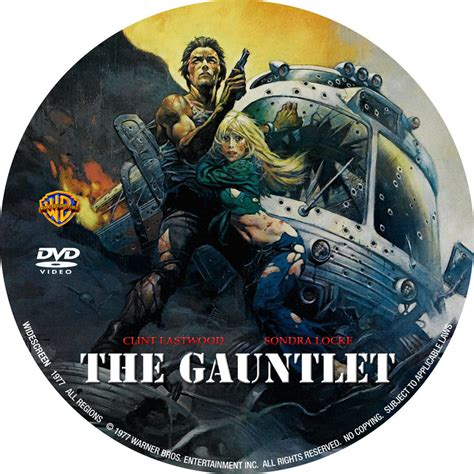 The Gauntlet (1977)  Custom Dvd Labels  The Gauntlet