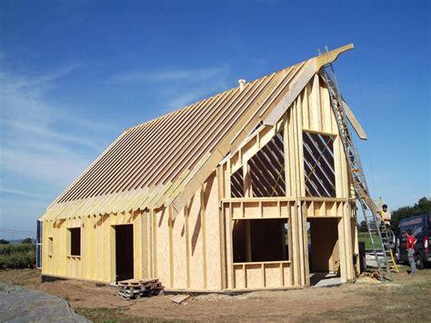 constructeur maison bois ossature maison moderne