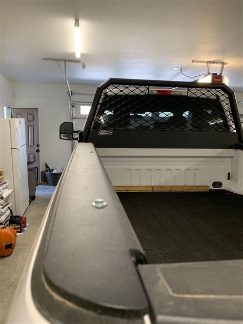 protech full headache rack  piece full length bed rails ford truck enthusiasts forums