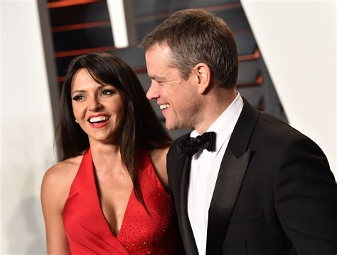 Best Matt Damon Matt Damon And Luciana Barroso Are Hollywood S Best