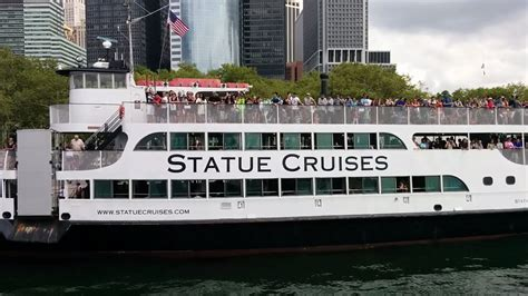 Boat Ride To Nyc From Nj by Ferry Ride To The Statue Of Liberty And Ellis Island With