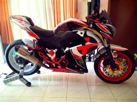 Modif Z250 by Galeri Foto Modifikasi Motor Sport Kawasaki Z250 Terbaru