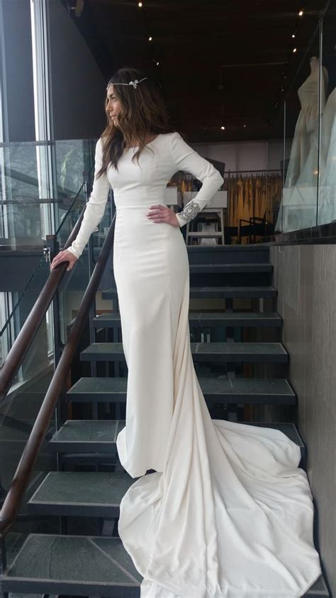 Long Sleeve  Ee  Wedding Ee   Dresses For Fall And Winter