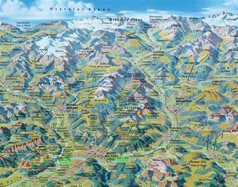 Südtirol Italien Karte