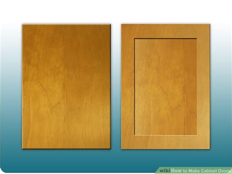 how to make flat panel cabinet doors how to make cabinet doors 9 steps with pictures wikihow