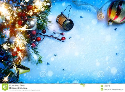 Art Christmas And New Year Party Backgrounds Stock Photo